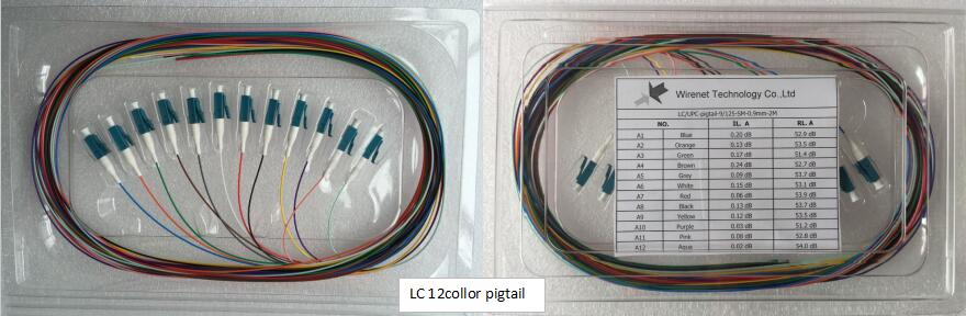 LC 12 color pigtail